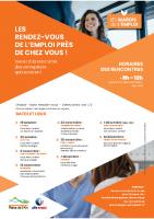 Flyer Forum de l'emploi A4